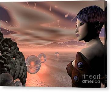 A Brave New World Canvas Print