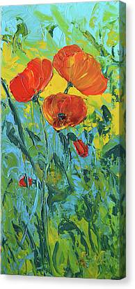 A Breath Of Spring Canvas Print