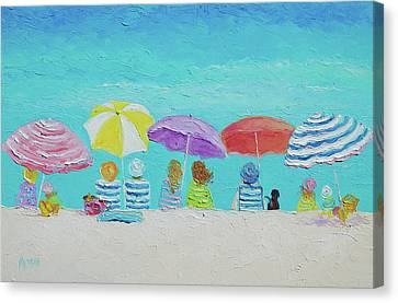 A Breezy Summers Day Canvas Print by Jan Matson