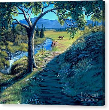 A Brighter Path Canvas Print
