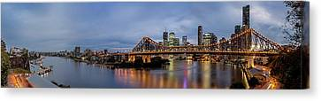 A Brisbane Story Canvas Print by Az Jackson