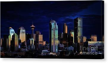 A Calgary Sunrise Canvas Print