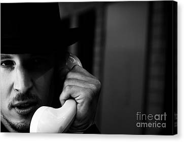 Communication Problems Canvas Print - A Call Of Ransom by Jorgo Photography - Wall Art Gallery