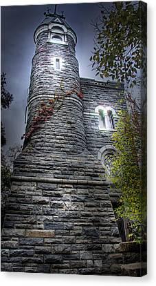 A Castle In Central Park Canvas Print