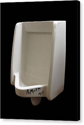 A Century Of Duchamp Canvas Print by Richard Reeve