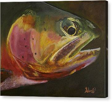 A Certain Cutthroat Canvas Print by Bill Werle