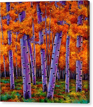 Trees Canvas Print - A Chance Encounter by Johnathan Harris