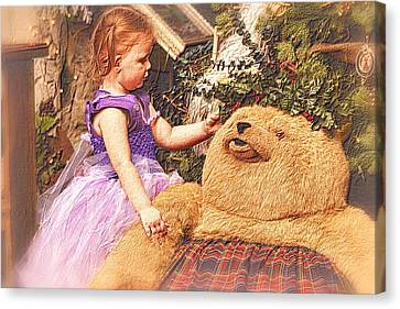 A Child's Christmas Canvas Print