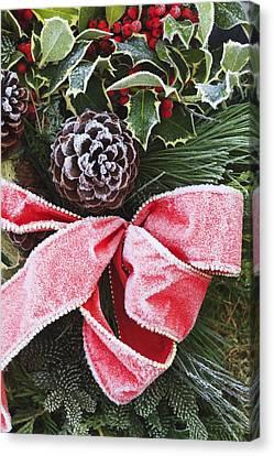 A Christmas Decoration Canvas Print by Craig Tuttle
