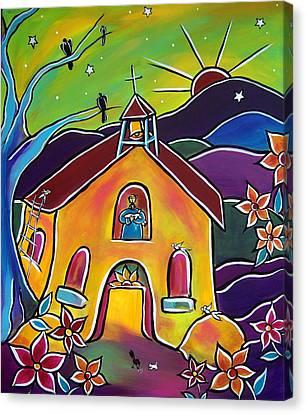 A Church For St. Francis Canvas Print