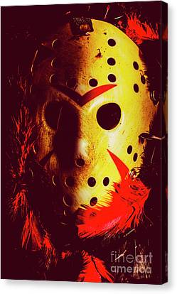 Hidden Face Canvas Print - A Cinematic Nightmare by Jorgo Photography - Wall Art Gallery