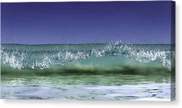 A Clean Break Canvas Print