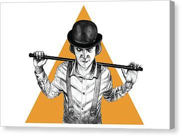 A Clockwork Orange Canvas Print by Anthony Gonzales-Clark