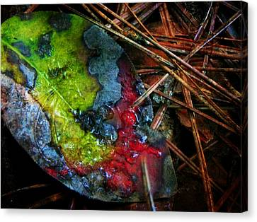 A Colorful Death Canvas Print