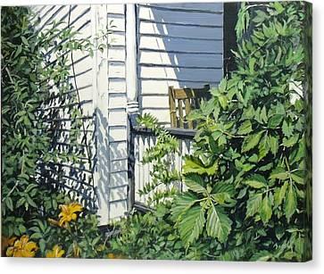 A Corner Of Summer Canvas Print