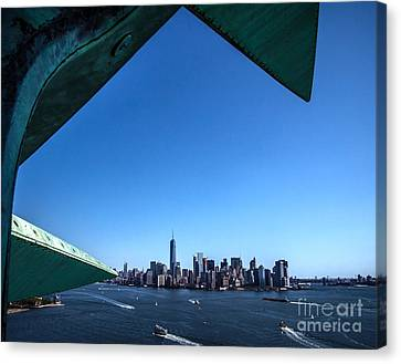 A Crowning View Canvas Print