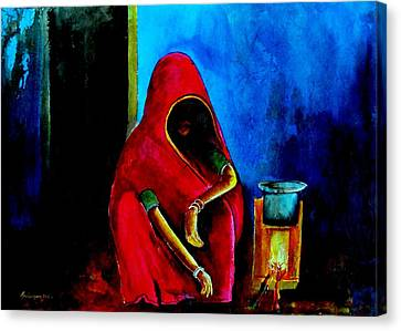 A Dark Corner Canvas Print