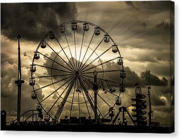 Canvas Print featuring the photograph A Day At The Fair by Chris Lord