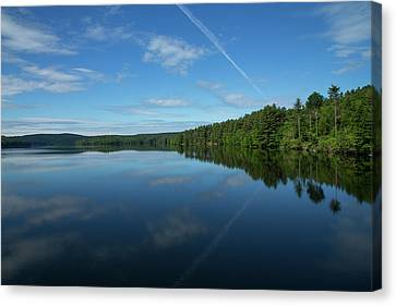 Canvas Print - A Day At The Reservoir by Karol Livote