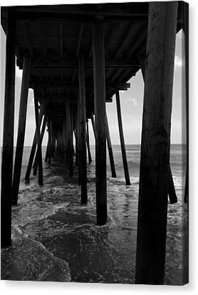 A Day At Virginia Beach #2 Canvas Print