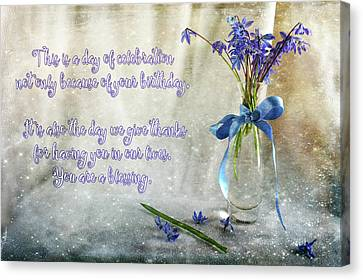 A Day For Celebration Canvas Print by Randi Grace Nilsberg