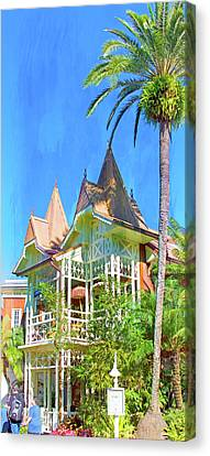 Canvas Print featuring the photograph A Day In Adventureland by Mark Andrew Thomas