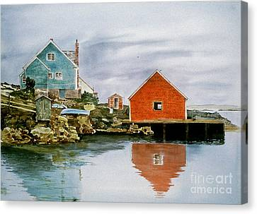 A Day Of Rest Canvas Print by Monte Toon