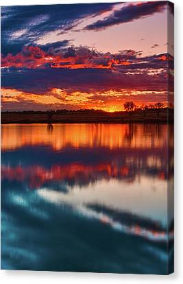 A Denver Dawn Canvas Print