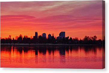 A Denver Morning Canvas Print