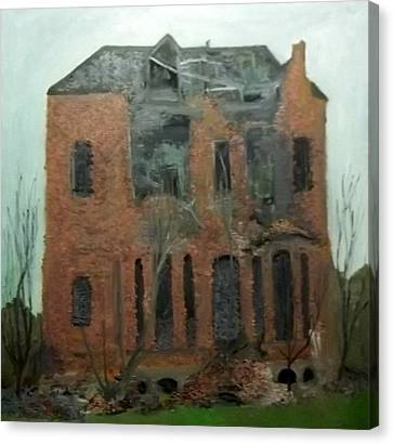 A Derelict House Canvas Print