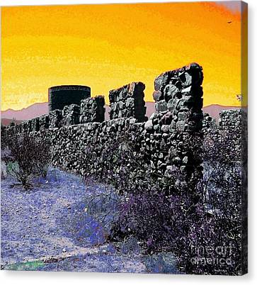 Abandoned Canvas Print - A Desert Host 2 by Glenn McCarthy Art and Photography