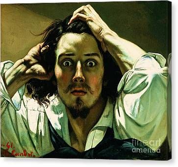 A Desperate Man Canvas Print by Pg Reproductions