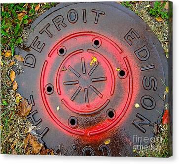 A Detroit Thing Canvas Print