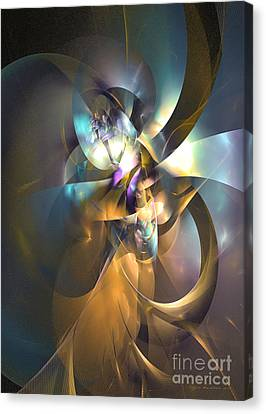 A Distant Melody Canvas Print by Sipo Liimatainen