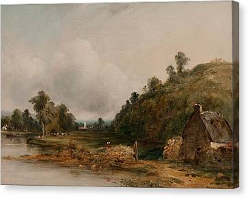 A Distant View Of Dedham Canvas Print