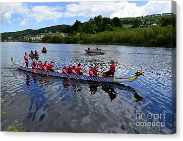 A Dragon Boat Canvas Print