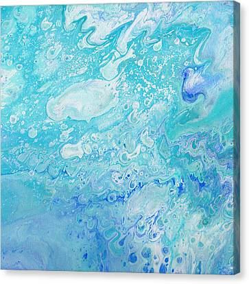 A Drop In The Ocean Canvas Print