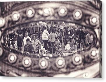 Canvas Print featuring the photograph A Fair Day by Caitlyn  Grasso