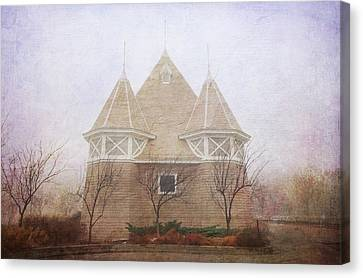 Canvas Print featuring the photograph A Fairytale Fog by Heidi Hermes