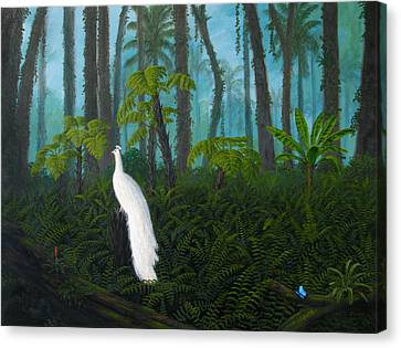 Canvas Print - A Fantasy In White by Mark Junge