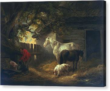 A Farmyard Canvas Print
