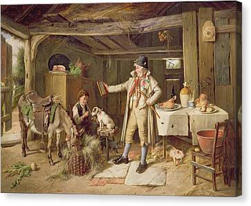 Kitchen Chair Canvas Print - A Fine Attire by Charles Hunt