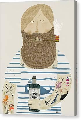 A Fine Rum Canvas Print by Bri B