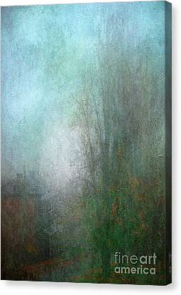 A Foggy Start Canvas Print by Russ Brown