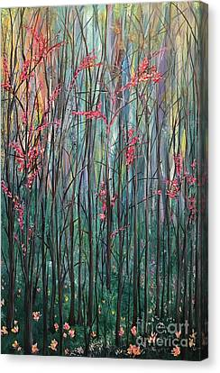 A Forest Canvas Print by Heather McKenzie