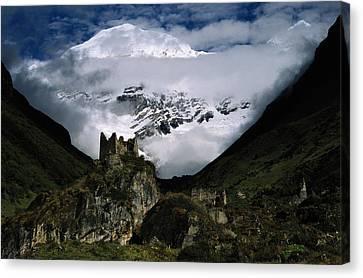 A Fortress Built To Repel Tibetan Canvas Print