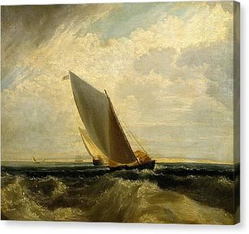 A Fresh Breeze Canvas Print by Joseph Mallord
