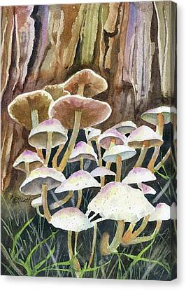 A Fungus Amongus Canvas Print by Marsha Elliott