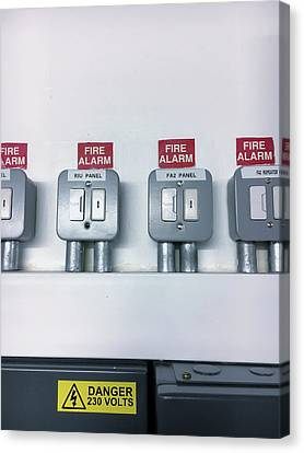 A Fuse Box Canvas Print