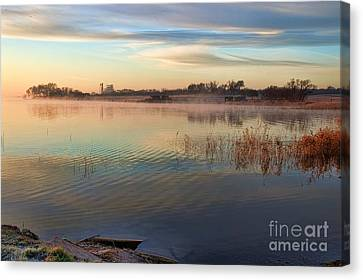 A Gentle Morning Canvas Print by Diana Mary Sharpton